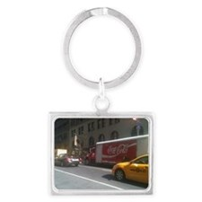 Coke at City Center Landscape Keychain