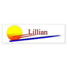 Lillian Bumper Bumper Sticker