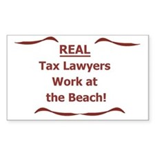 REAL Tax Lawyers Decal