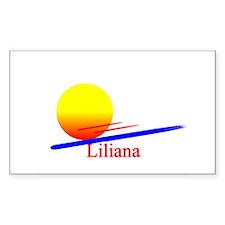 Liliana Rectangle Decal