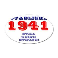 ESTABLISHED 1941 - STILL GOI 35x21 Oval Wall Decal