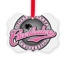CAU Cheer PINK Decal1 Ornament
