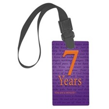 7 Year Recovery Birthday - You a Large Luggage Tag