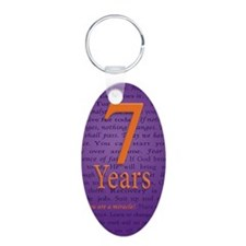 7 Year Recovery Birthday -  Keychains