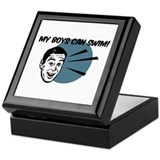 My Boys Can Swim Retro Keepsake Box