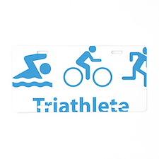 triathlon2E Aluminum License Plate