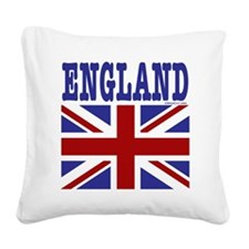 England12x12 Square Canvas Pillow