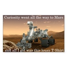 Curiosity went all the way to  Decal