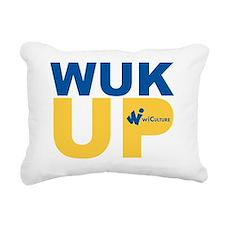 Wuk Up! Rectangular Canvas Pillow