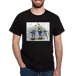 Lemon Blue Moderns Dark T-Shirt