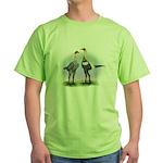 Lemon Blue Moderns Green T-Shirt