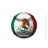 Mexican Baseball Postcards (Package of 8)