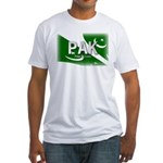 Pakistan Pride Fitted T-Shirt
