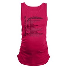 Effects of Radiation Maternity Tank Top
