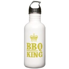 BBQ King Gold Water Bottle