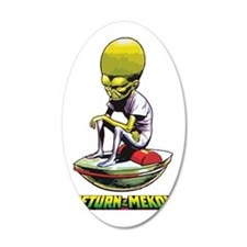 Return of the Mekon scifi vi Wall Decal