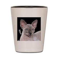 Sphynx Cat Ornament Shot Glass