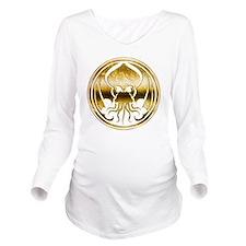 Call of Cthulhu chro Long Sleeve Maternity T-Shirt
