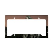 korean war memorial veterans  License Plate Holder