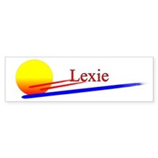 Lexie Bumper Bumper Sticker