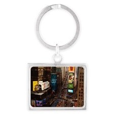 room with a view... TIMES SQUAR Landscape Keychain