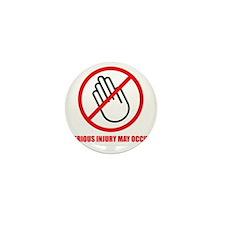 Dont Touch Mini Button