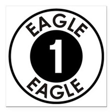 "Space: 1999 - Eagle 1 Lo Square Car Magnet 3"" x 3"""