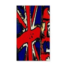 Vintage Chick Union Jack Wall Decal