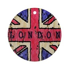 london Round Ornament