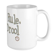 Books Rule, Boys Drool Mug
