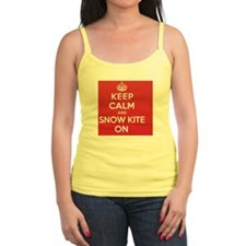 Keep Calm Snow Kite Jr.Spaghetti Strap