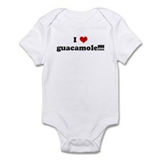 I Love guacamole!!!! Infant Bodysuit