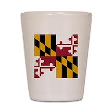 Maryland Shot Glass