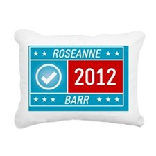 Roseanne Barr 2012 yard  Rectangular Canvas Pillow