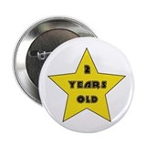 2 YEARS OLD - Birthday Button
