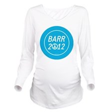 Barr 2012 Peace Long Sleeve Maternity T-Shirt