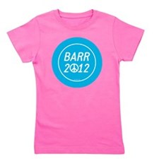 Barr 2012 Peace Girl's Tee