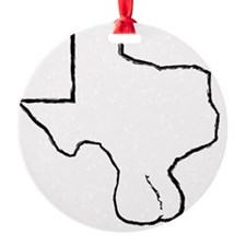 Texas Balls Ornament