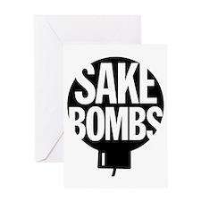 Sake Bombs Greeting Card