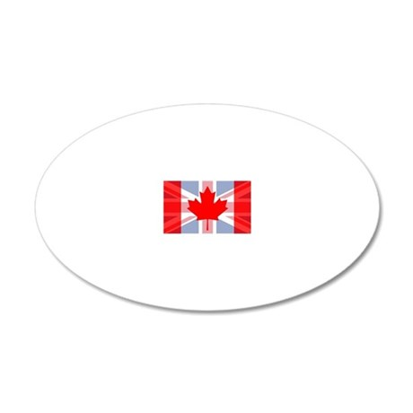 UK/Canada 20x12 Oval Wall Decal