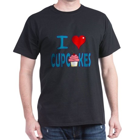 I love Cupcakes! Dark T-Shirt