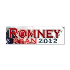 Romney Ryan Car Magnet 10 x 3