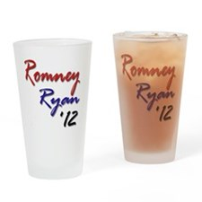 Romney Ryan 2012 Drinking Glass
