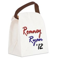 Romney Ryan 2012 Canvas Lunch Bag