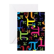 Pieces of Pi Greeting Card
