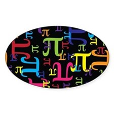 Pieces of Pi Bumper Stickers