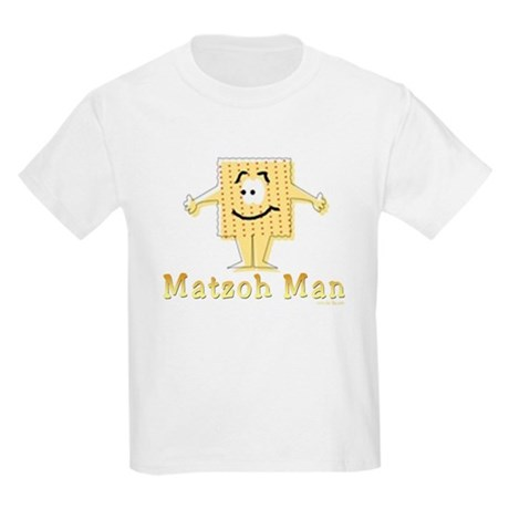 Matzoh Man Passover Kids Light T-Shirt