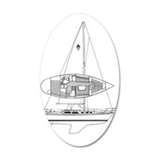 Catalina 34 Wall Decal