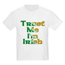Trust Me I'm Irish Kids T-Shirt