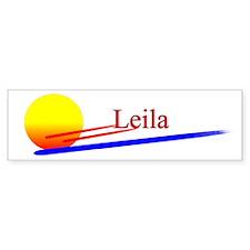 Leila Bumper Bumper Sticker